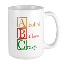 The REAL ABC's (clean version) Coffee Mug