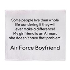 AF BF No Problem Throw Blanket