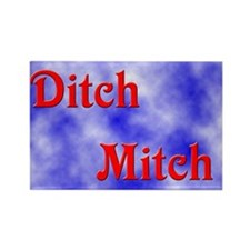 Ditch Mitch Rectangle Magnet (100 pack)