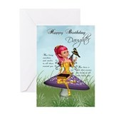 Daughter Fairy Birthday Card