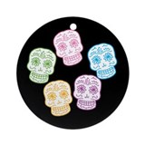 skull-multi_co_b.png Ornament (Round)