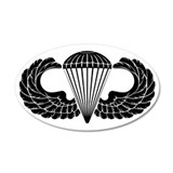 Airborne Stencil Wall Decal