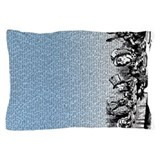 alice-vintage-border_blue_18x18.png Pillow Case