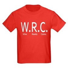 W.R.C Who Really Cares T