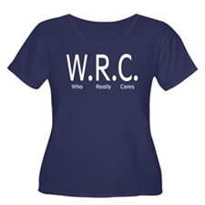 W.R.C Who Really Cares Women's Plus Size Scoop Nec