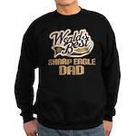 Sharp Eagle Dog Dad Sweatshirt (dark)