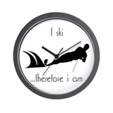 Waterskiing  Wall Clock