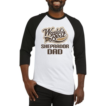 Sheprador Dog Dad Baseball Jersey