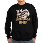 Sheprador Dog Dad Sweatshirt (dark)