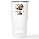 Sheprador Dog Dad Ceramic Travel Mug