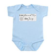 Live Freud, Die Jung Infant Bodysuit