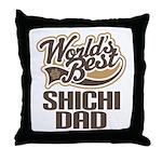 ShiChi Dog Dad Throw Pillow