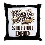 Shiffon Dog Dad Throw Pillow