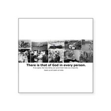 """That of God Square Sticker 3"""" x 3"""""""