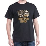 Shih-Poo Dog Dad T-Shirt
