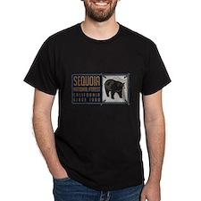 Sequoia Black Bear Badge T-Shirt