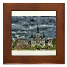 Jackson Square, New Orleans Framed Tile