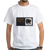 Yosemite Black Bear Badge Shirt