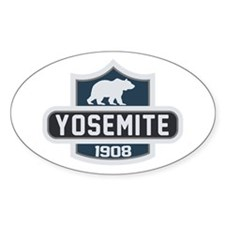 Yosemite Blue Nature Crest Decal