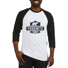 Yosemite Blue Nature Crest Baseball Jersey