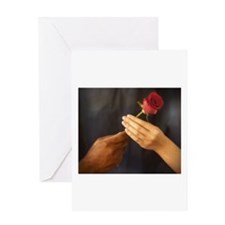 The Rose Exchange Greeting Card