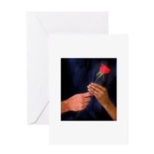 The Rose Exchange Greeting Card