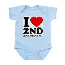 I Heart the 2nd Amendment Onesie