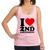 I Heart the 2nd Amendment Racerback Tank Top