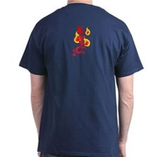 Fire Dragon Yellow Flames - T-Shirt""
