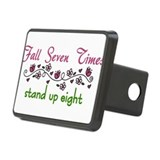 Fall Seven Times Rectangular Hitch Cover