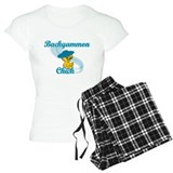 Backgammon Chick #3 Pajamas