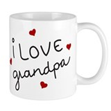 I Love grandpa Coffee Mug