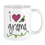 I Love Grama Mug