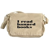 I Read Banned Books Messenger Bag