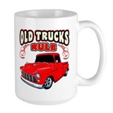 Old Trucks Rule 1 Ceramic Mugs