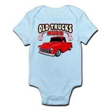 Old Trucks Rule 1 Infant Bodysuit