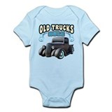 Old Trucks Rule 2 Infant Bodysuit