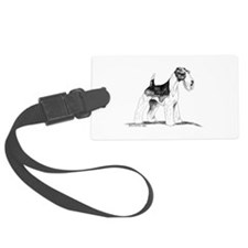 Wire Fox Terrier Luggage Tag