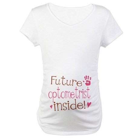 Future Optometrist Maternity T-Shirt