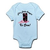 Cowgirl 1st Birthday Infant Bodysuit