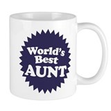 Worlds Best Aunt Small Mug