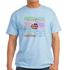 Big Bang Theory Quotes T-Shirt