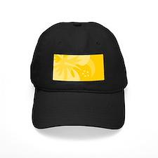 Hibiscus Yellow Baseball Hat