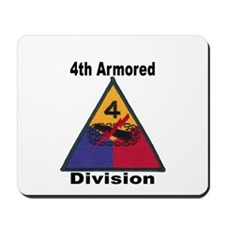 4TH ARMORED DIVISION Mousepad