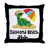 Daytona Beach Florida Throw Pillow