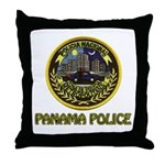 Panama Police Throw Pillow