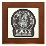 Oregon State Police SWAT Framed Tile