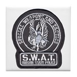 Oregon State Police SWAT Tile Coaster