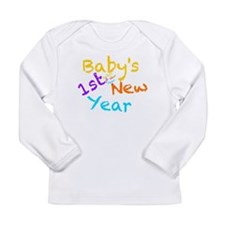 Babys 1st New Year Long Sleeve Infant T-Shirt