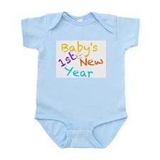 Babys 1st New Year Infant Bodysuit